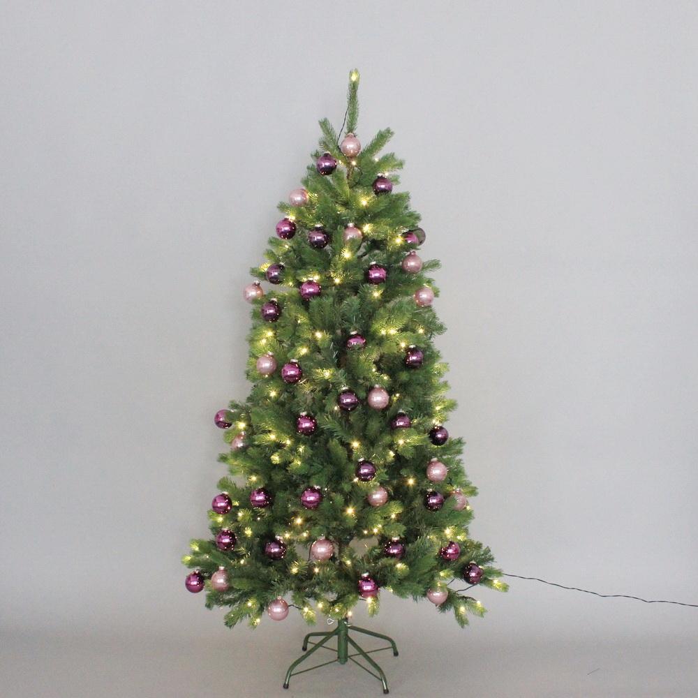 Led Lichterkette Für Tannenbaum.Edel Tannenbaum Mit Led Lichterkette