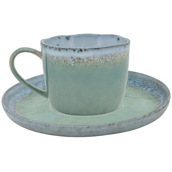 Blau Dresmer   Tasse    ca 8 cm   guter Zustand
