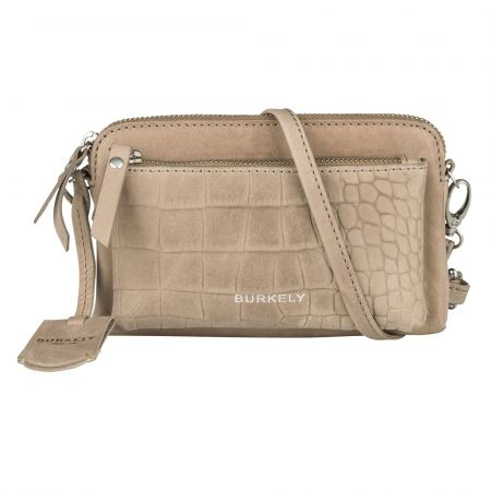 Burkely Croco Cody Minibag cream<p></p>