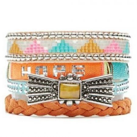 HIPANEMA Armband 'Bluehope'
